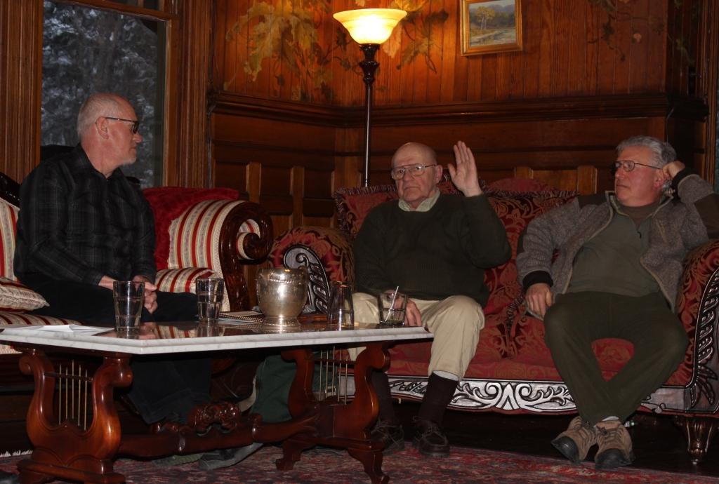 Mark Loete, Roger Menard, and Judd Weisberg ©2015 MGP&D