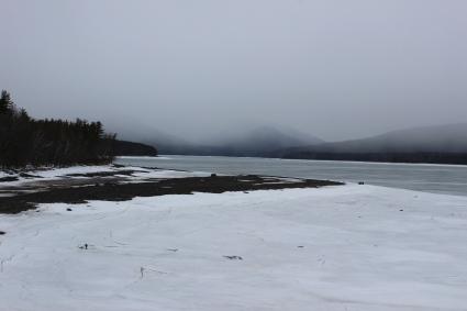 ashokan resevoir snowy