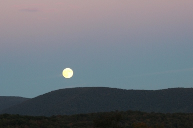 sept 27 2015 supermoon rise