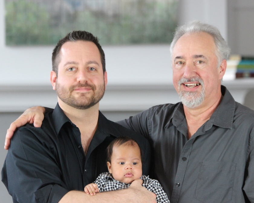 Three generations at Emerson Resort and Spa