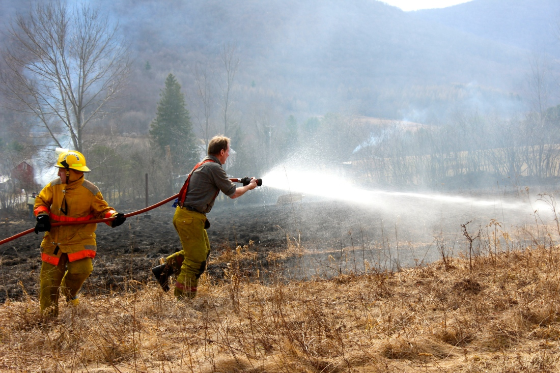 Denver brush fire 2