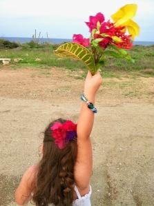 Follow the flower girl!