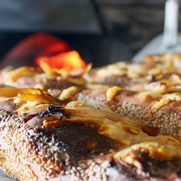 Brio's woodfired pizza